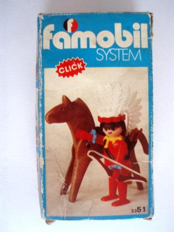 Playmobil 3351v2-fam - Jefe Indio - Box