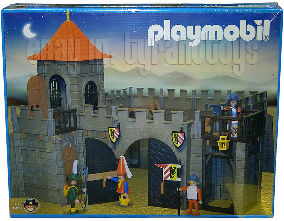 Playmobil 1-3446-ant - Small Castle - Box