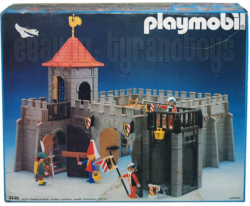 Playmobil 3446-ant - Small Castle - Box