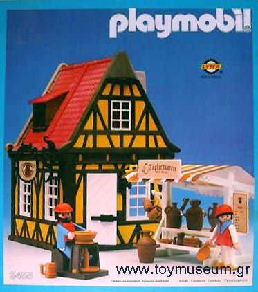 Playmobil 3455-lyr - Medieval Pottery - Box