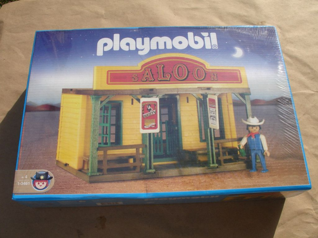 Playmobil 1-3461-ant - Saloon - Box