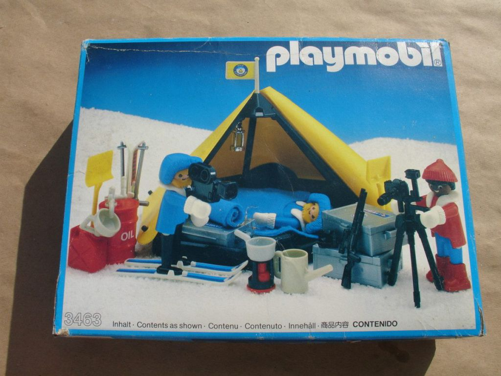 Playmobil 3463-ant - Polar Explorers - Box
