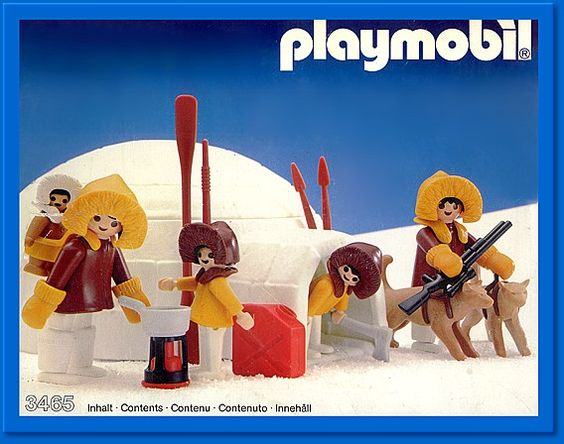 Playmobil 3465 - Igloo - Box