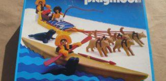 Playmobil - 3466-ant - Kayak And Dog Sled