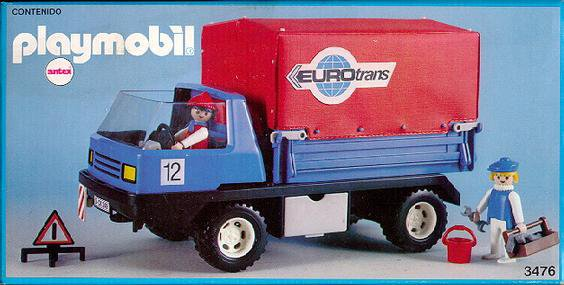 Playmobil 3476-ant - moving truck - Box