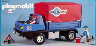 Playmobil - 3476-ant - moving truck