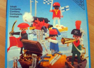 Playmobil - 3480-ita - 4 pirates