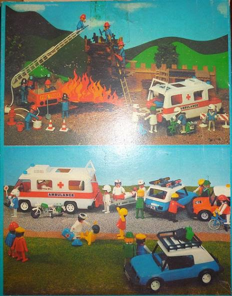 Playmobil 3490-ant - Hospital Team - Back