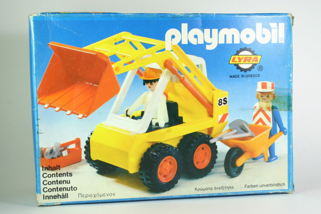 Playmobil 3507-lyr - Excavator - Box