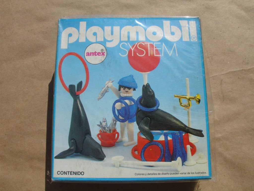Playmobil 3518-ant - Seal´s coach - Box