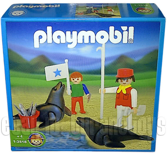 Playmobil 1-3518-ant - Seals and Handlers - Box