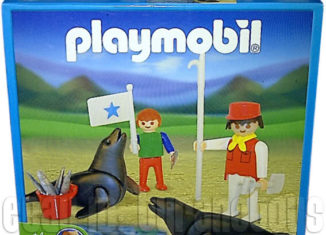 Playmobil - 1-3518-ant - Seals and Handlers