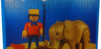 Playmobil - 1-3519-ant - Baby Elephant and Handler