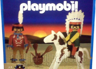 Playmobil - 1-3520-ant - Two Indians and Horse