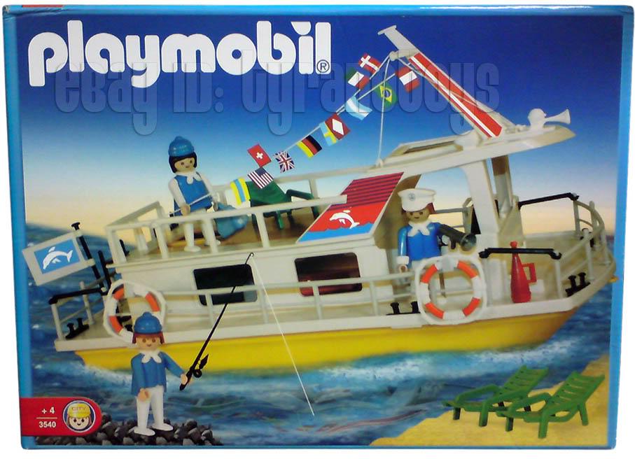 Playmobil 3540v2-ant - Houseboat - Box