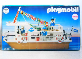 Playmobil - 3540-ant - Houseboat