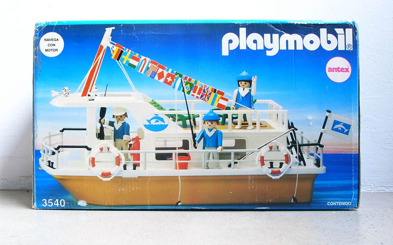 Playmobil 3540-ant - Houseboat - Box