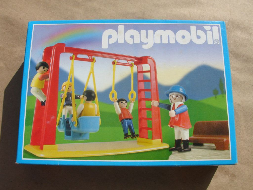Playmobil 3552-ant - Children With Swing - Box