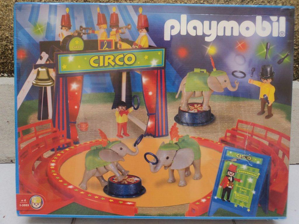 Playmobil 1-3553-ant - Circus Arena - Box