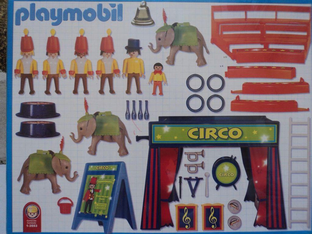 Playmobil 1-3553-ant - Circus Arena - Back