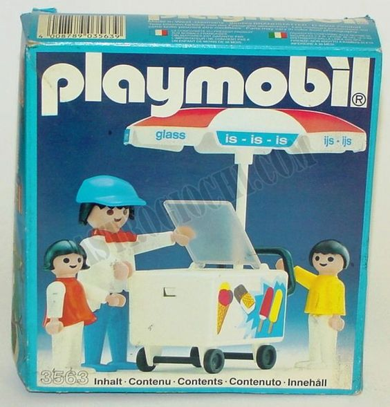 Playmobil 3563 - Ice-Cream Cart - Box