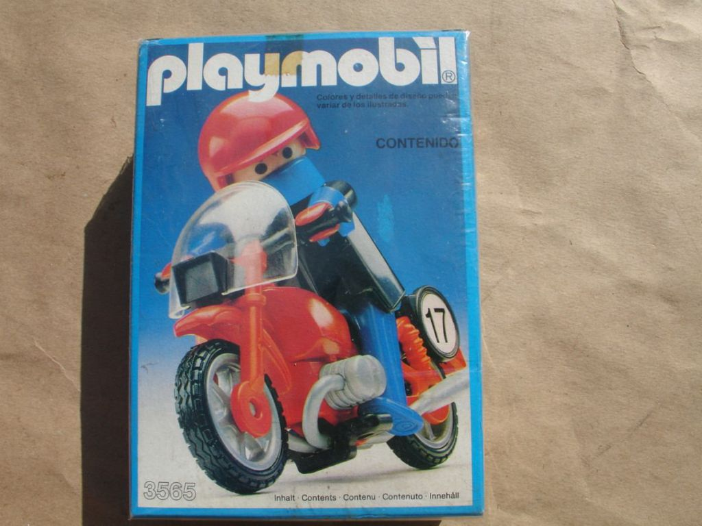 Playmobil 3565-ant - Racing bike - Box