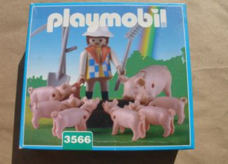 Playmobil - 3566-ant - Farmer Feeding Pigs