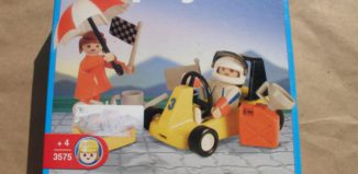 Playmobil - 3575v2-ant - Go Kart and Woman