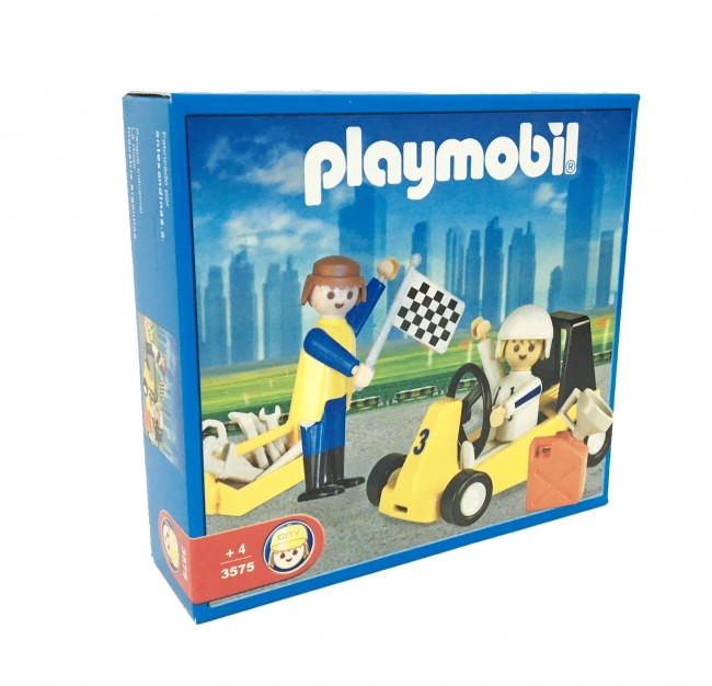 Playmobil 3575v3-ant - Go cart - Box