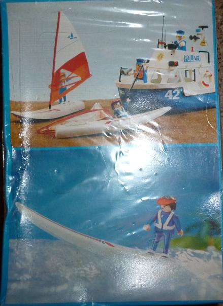 Playmobil 3584-ant - windsurfer - Back