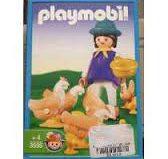 Playmobil - 3595v2-ant - Farmer with chicks
