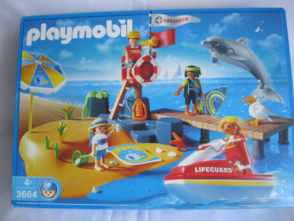 Playmobil 3664s2 - The Beach - Box