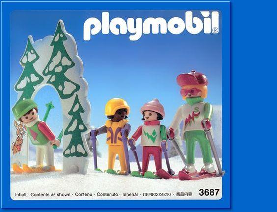 Playmobil 3687 - Ski School - Box