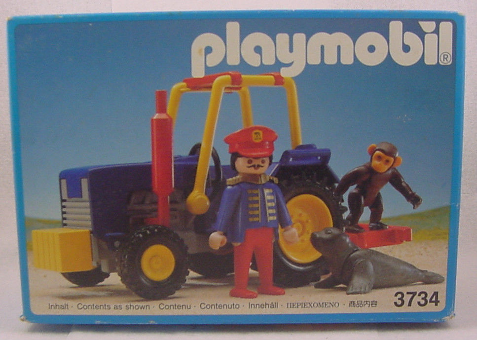 Playmobil 3734 - Circus Tractor - Box