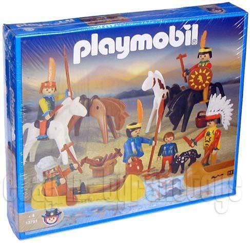 Playmobil 13751-ant - Indian Set - Box