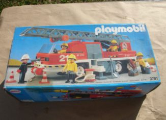 Playmobil - 3781-ant - Hook and Ladder