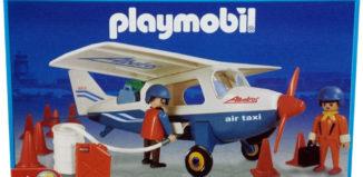 Playmobil - 3788-ant - Blue Air Taxi