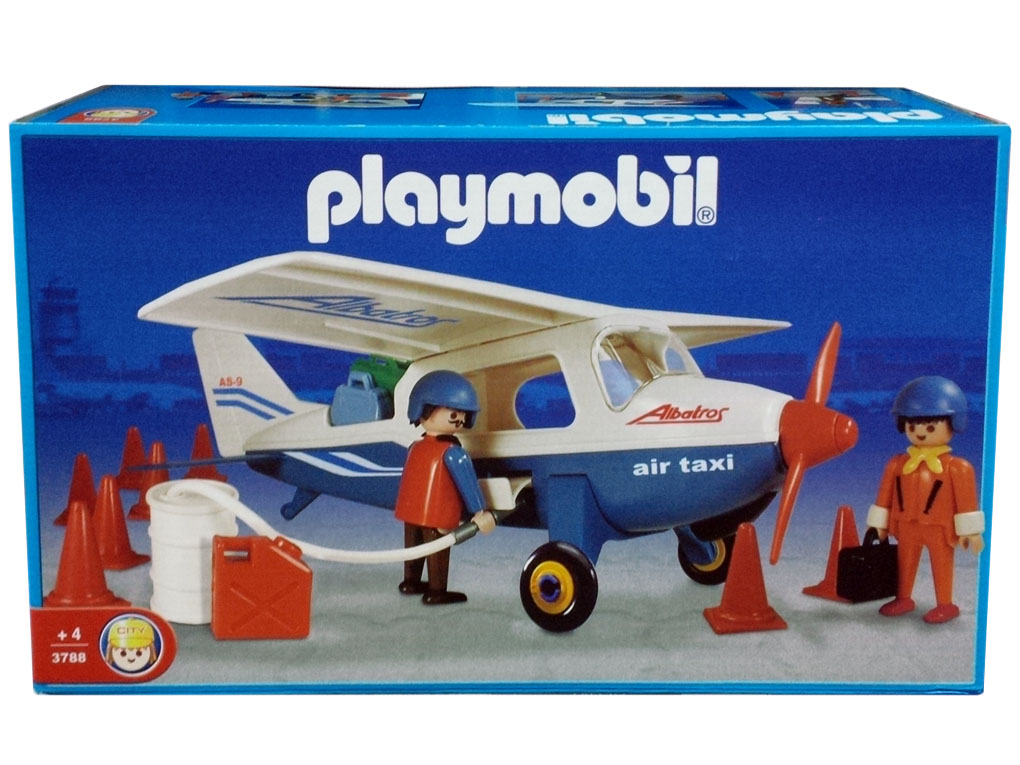 Playmobil 3788-ant - Blue Air Taxi - Box