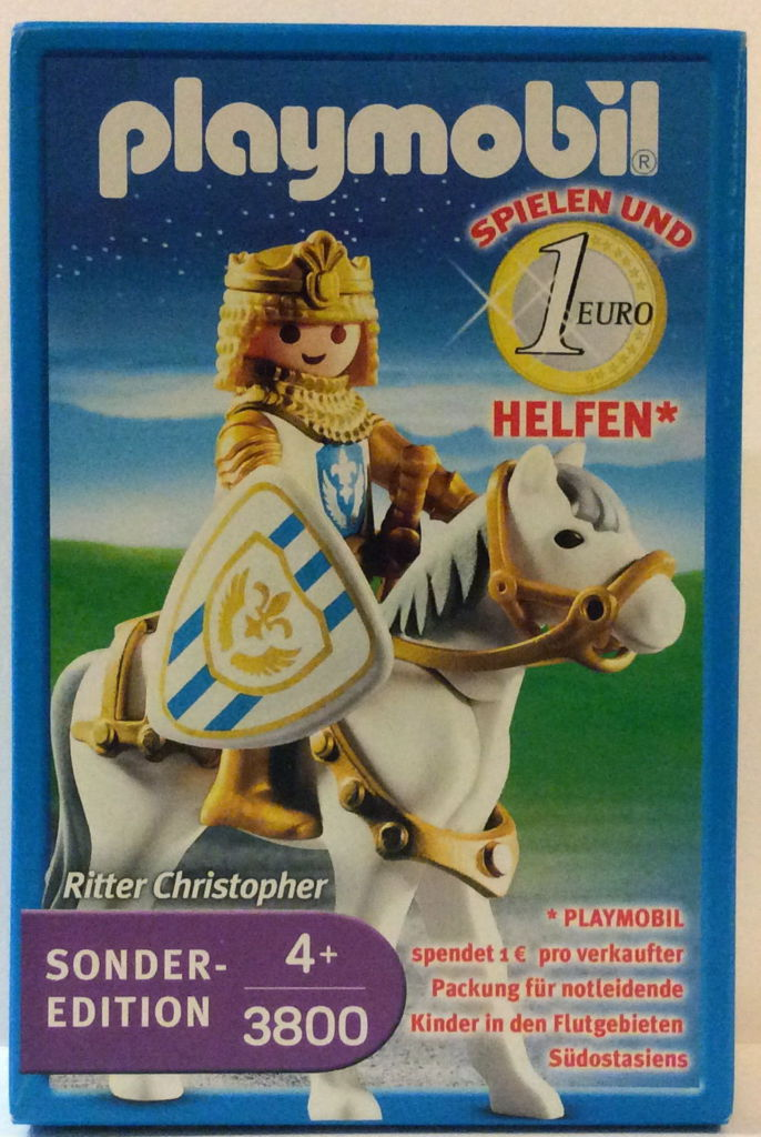 Playmobil 3800 - Sir Christopher - Box