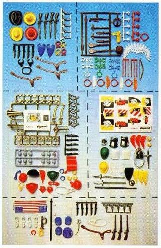 Playmobil 3901 - Klicky Accessories Set No. 1 - Back