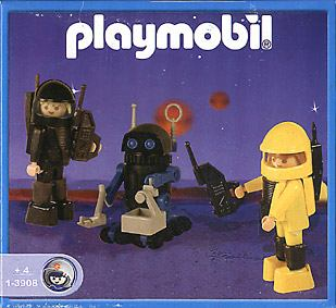 Playmobil 1-3908-ant - Astronauts & Robot - Box