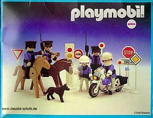 Playmobil 3938-ant - Police Set - Box