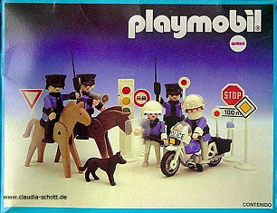 Playmobil - 3938-ant - Police Set