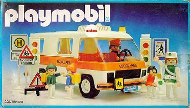 Playmobil 3943-ant - School Bus - Box