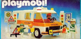 Playmobil - 3943-ant - School Bus