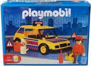 Playmobil 1-3944-ant - Car with Mechanic - Box