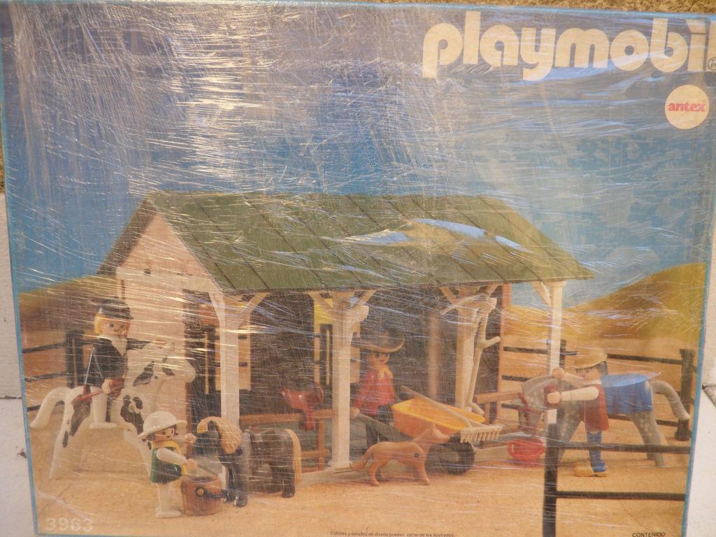 Playmobil 3963-ant - Farm Barn - Box
