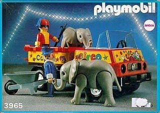 Playmobil - 3965v1-ant - Circus Truck