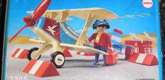 Playmobil - 3966-ant - Blue & red biplane