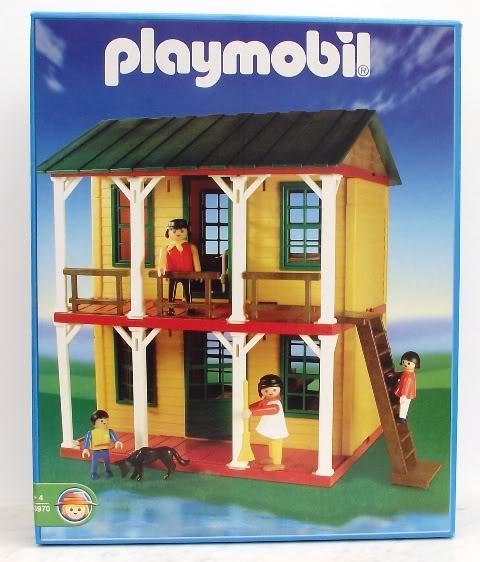 Playmobil 1-3970-ant - 2 Floor House - Box